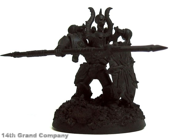 How I paint Iron Warriors, Stage 1: Metal, Step 1: Primer