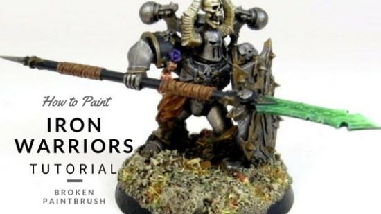 How to Paint Iron Warriors