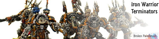 Iron Warrior Terminator Squad