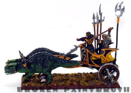 Dark Elf Chariot - Left Side
