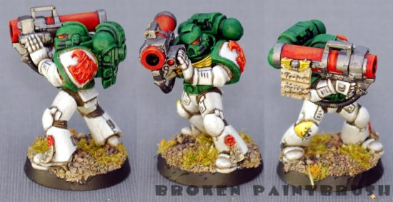 Mentor Legion Trooper #4 with Missile Launcher