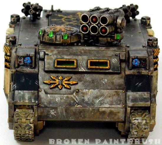 Iron Warriors Rhino #2 - Done - Front