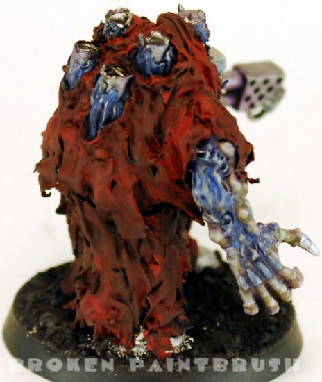 Sculpted Obliterator 2 - Flesh Painted Back