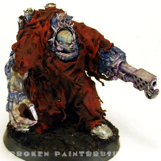 Sculpted Obliterator 2 - Flesh Painted