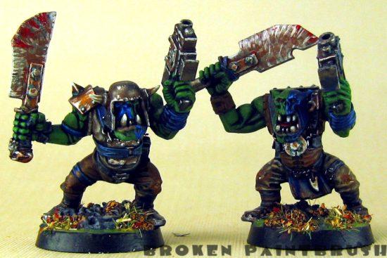 Ork Boyz 1 & 2