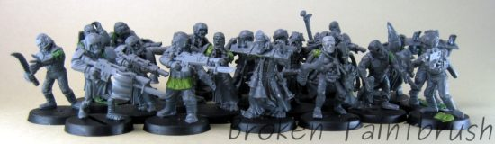 Traitor Conscripts - Zombie Slaves for the Traitor Guard