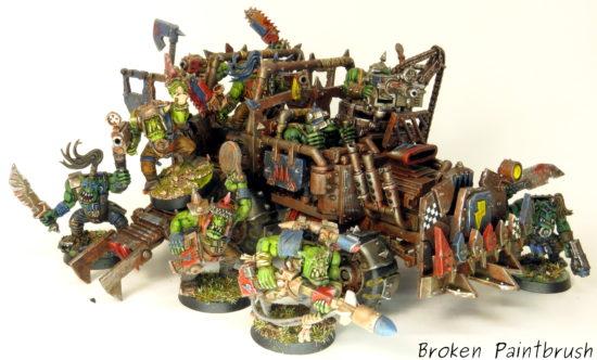 Death Skull Ork Trukk Boyz