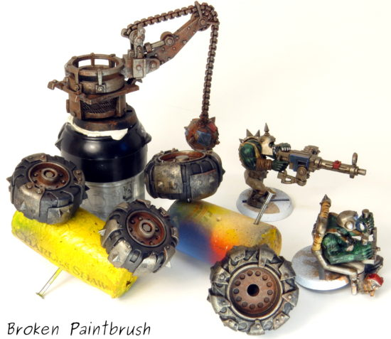 How to Paint an Ork Truck Step 9