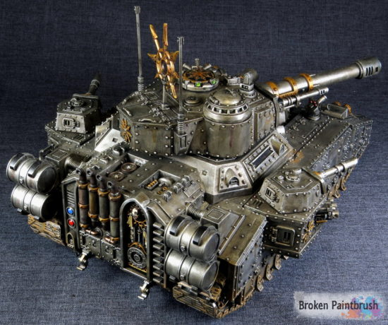 Iron Warriors Banebade back