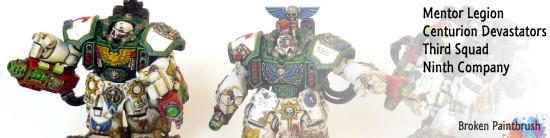 Mentor Legion Devastator Centurions