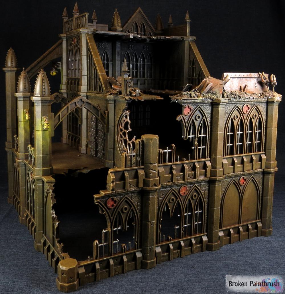 Pegasus Gothic Buildings For 40k Terrain