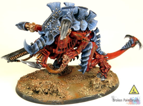 How to Paint a Carnifex base