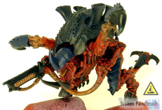 How to Paint a Carnifex Red Layer 1