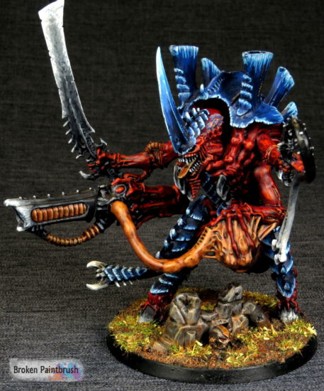 Tyranid Hive Tyrant of Hive Fleet Behemoth