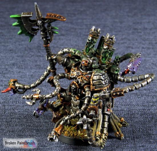 Iron Warriors Warpsmith left