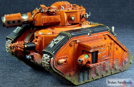 Traitor Guard Leman Russ Demolisher tank