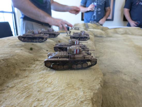 Bolt action tank company