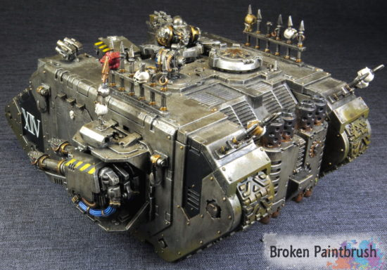 Iron Warriors Land Raider
