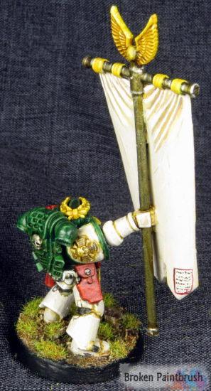 Mentor Legion Command Company Standard Bearer