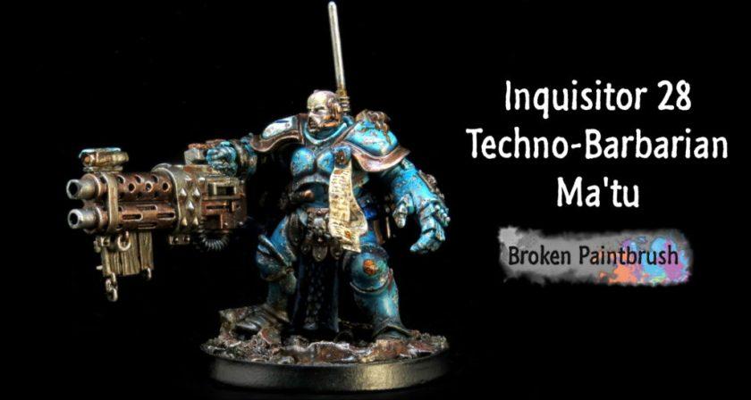 INQ28 Techno-Barbarian Banner