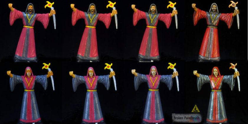 Yellow Skin Cultists from Mansion of Madness
