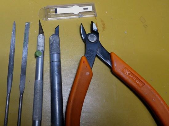 Bits Bashing Tools for Custom Miniatures