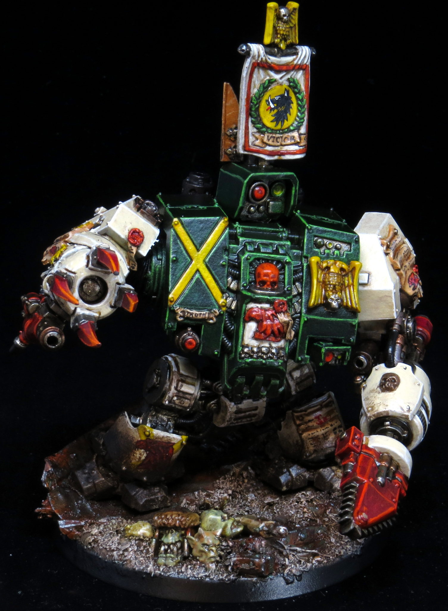I go deeper into this style of customization in another post using a  dreadnought as an example. While some of these changes require some green  stuff, ...