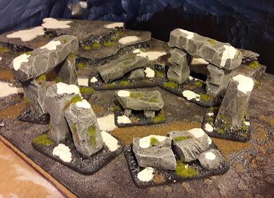DIY Stonehenge with foam