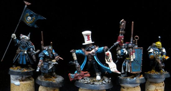 WIP INQ28 Team with Turquoise Robes