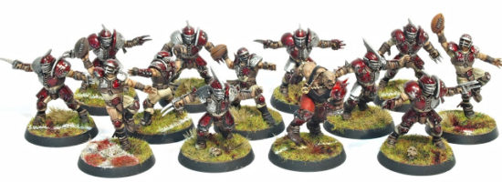 Red Lantern Blood Bowl Team with the Mighty Zug