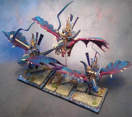 Converted Drakon Riders from Cold Ones