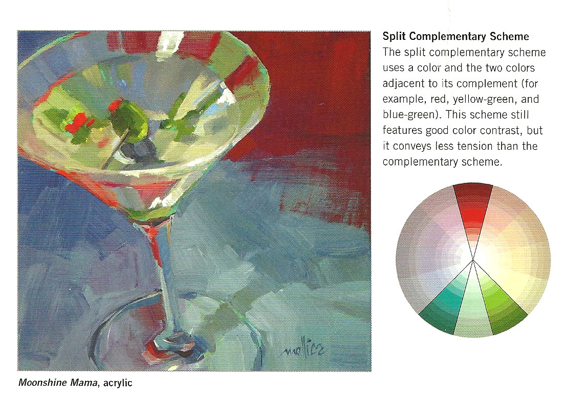 picking a color scheme using the color wheel color scheme from color theory book - Color Theory Book