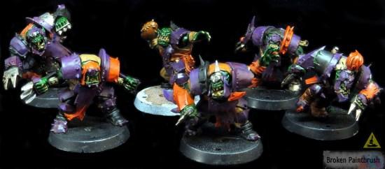 Ork Blood Bowl Team WIP