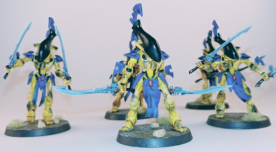 Weathered Wraithblades of Iyanden