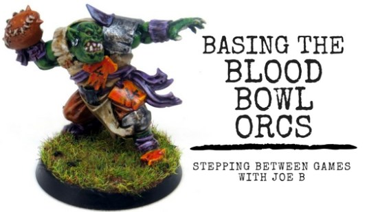 How to Base Blood Bowl Players