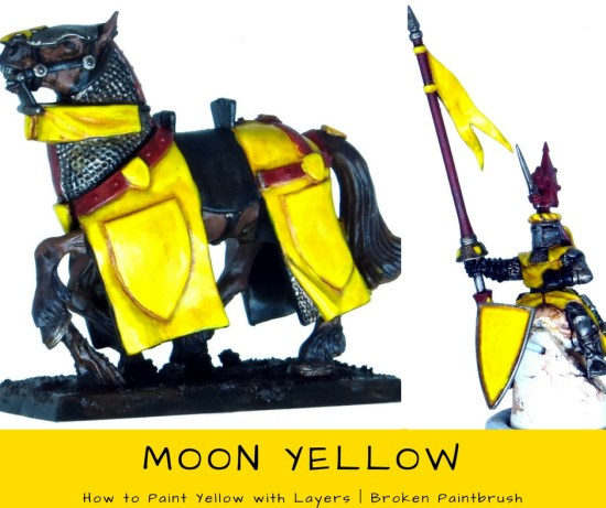 How to Paint Yellow with Layers - Second Highlight