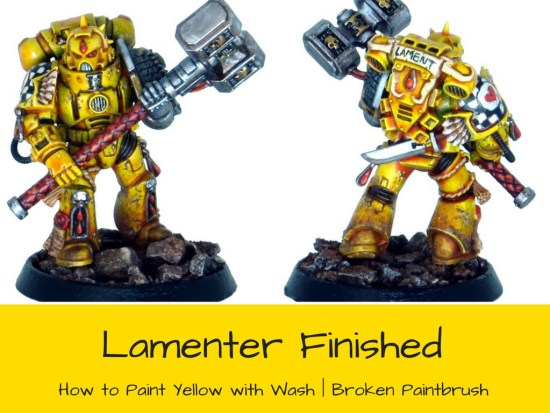 Lamenter Death Watch Space Marine Tutorial