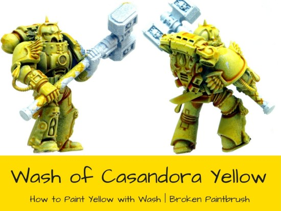 Candora Yellow over White Primer
