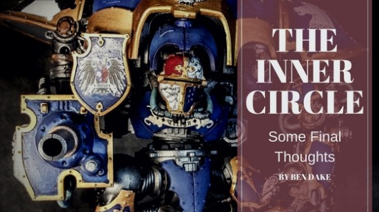 Final Thoughts on the Inner Circle
