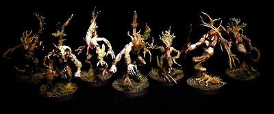 Converted Sylvaneth Demon Trees