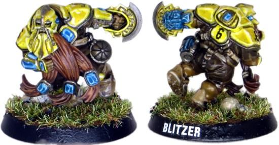 Dwarf Blood Bowl Blitzer #6
