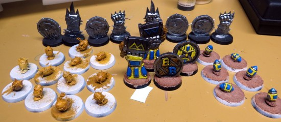 Work In Progress Blood Bowl Tokens