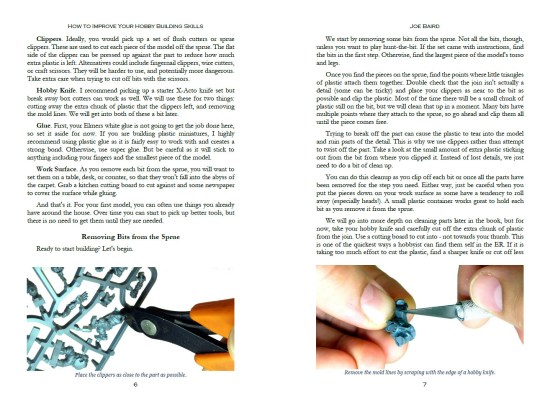 An example page showing how to build your first mini