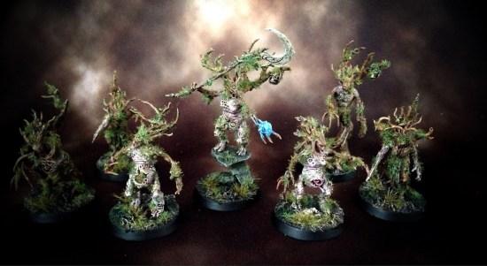 Bog Dryads Converted Sylvaneth