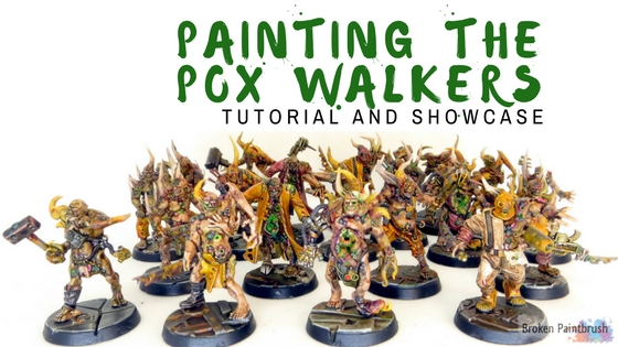Painting the Pox Walkers with Washes