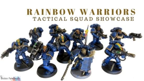 Rainbow Warriors Tactical Squad Showcase