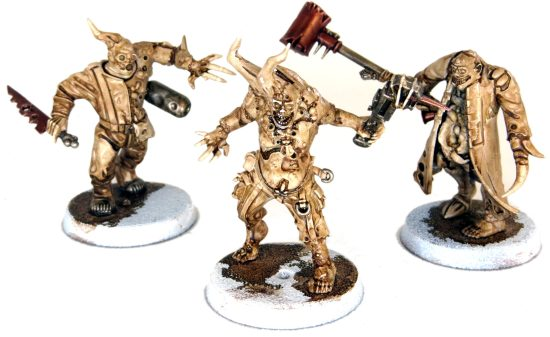Painting Pox Walkers with Washes the base colors