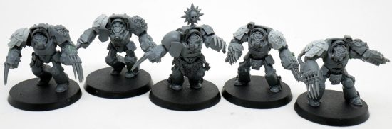 Mentor Legion Assault Terminators with LIghtning claws