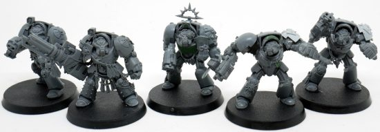 Mentor Legion Terminators with Assault Cannon