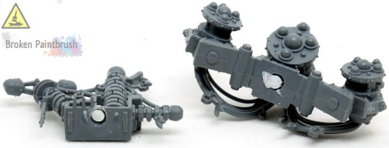 adding magnets to big mek's weapons